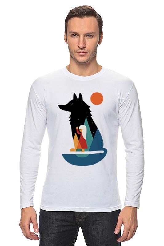 Printio Лонгслив Девочка и волк