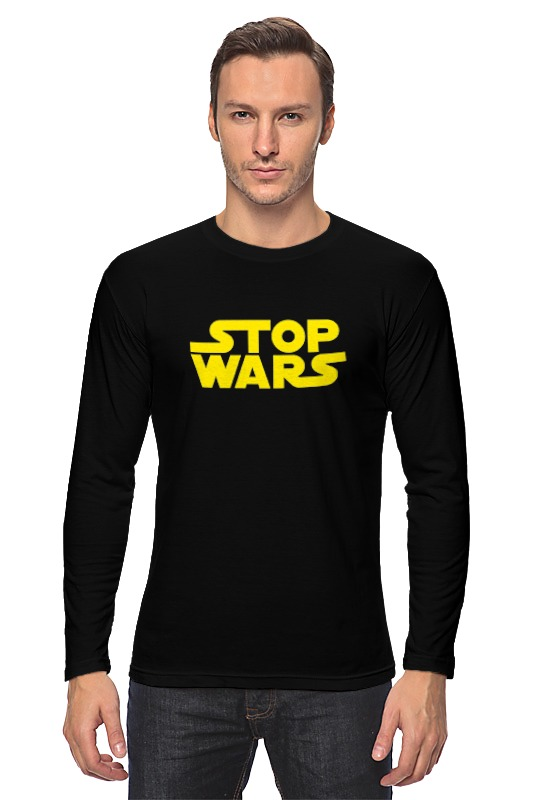 Printio Лонгслив Stop wars