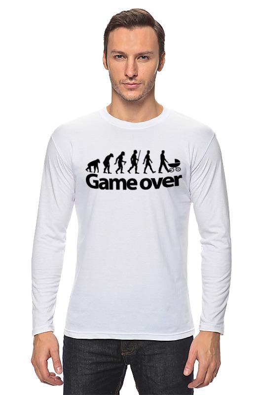 Printio Лонгслив Game over (игра окончена) printio лонгслив game over