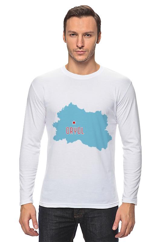 Printio Лонгслив Орловская область. орел