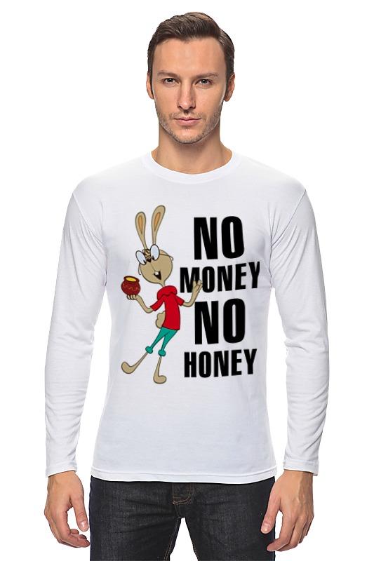 printio лонгслив no cake Printio Лонгслив No money no honey