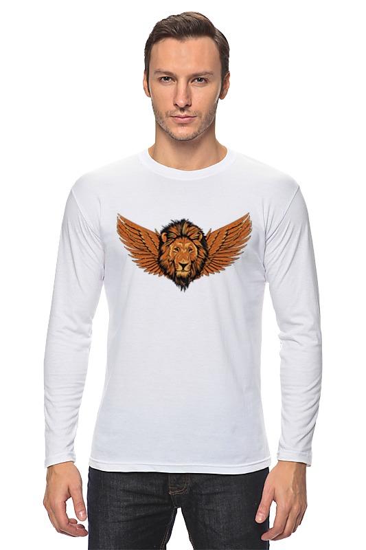 Printio Лонгслив Крылатый лев