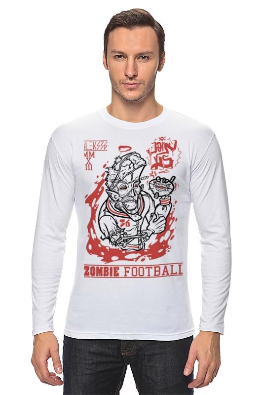 Printio Лонгслив Zombie football лонгслив printio zombie football