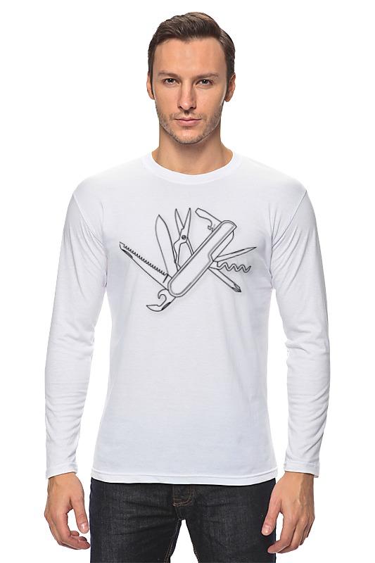 Printio Лонгслив Швейцарский нож