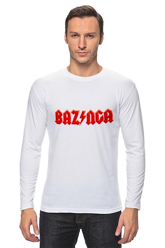 printio bazinga базинга Printio Лонгслив Bazinga! (базинга)