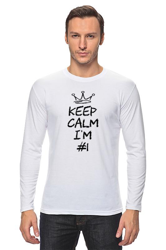 Printio Лонгслив Keep calm i am #1 printio лонгслив i am