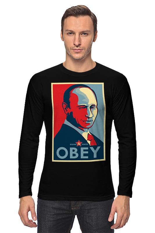 Printio Лонгслив Путин (obey)