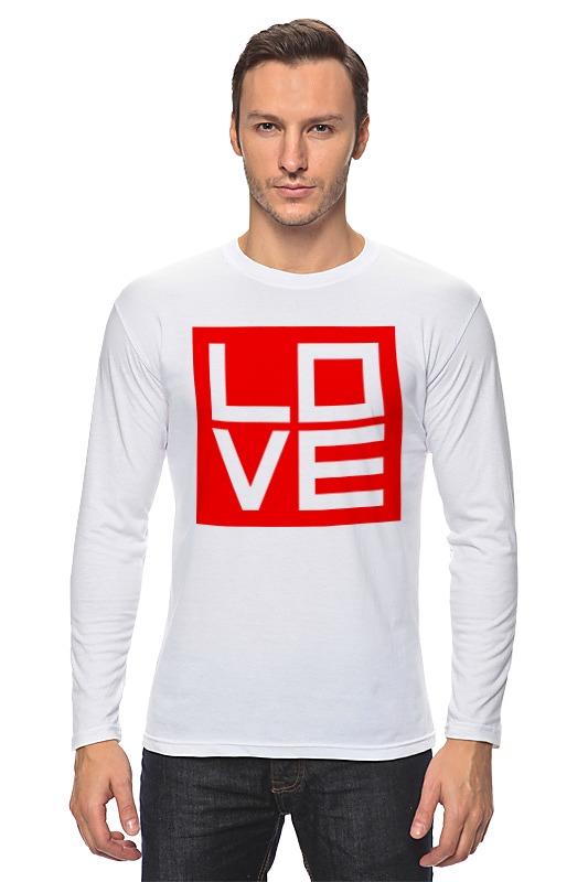 printio лонгслив love 3 Printio Лонгслив Love (любовь)