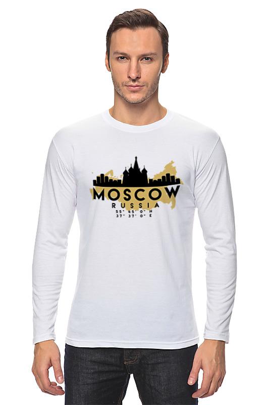 Printio Лонгслив Москва (россия)