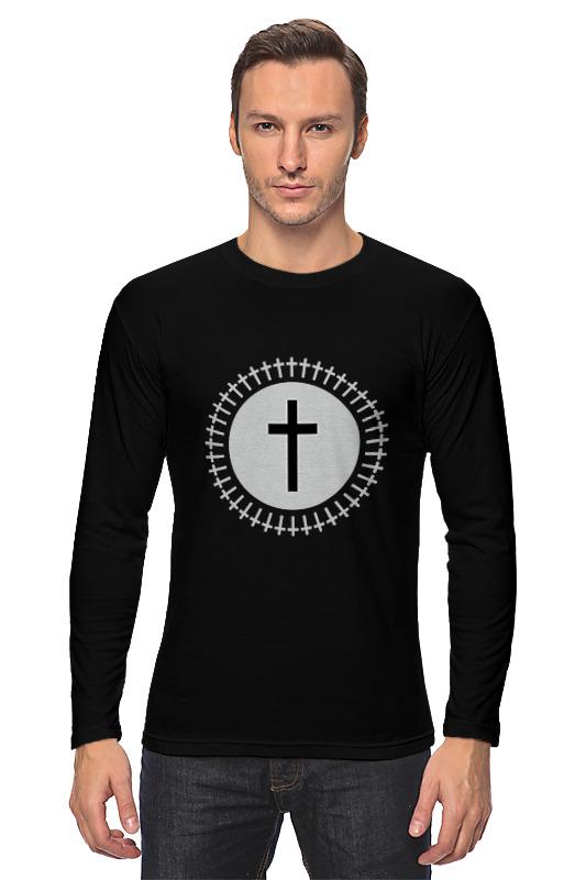 Printio Лонгслив Кресты