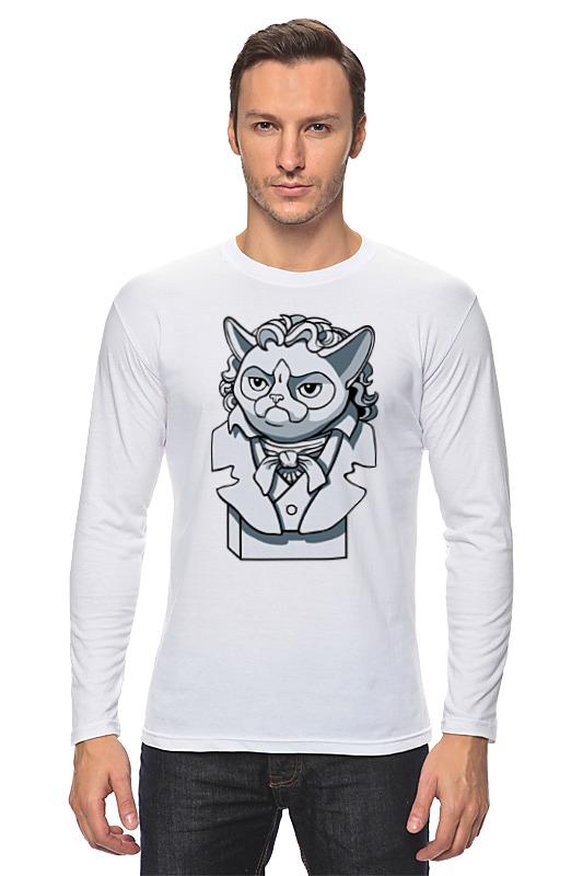 Printio Лонгслив Грустный кот