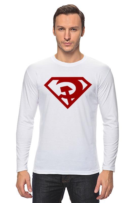 Printio Лонгслив Ссср (супермен)
