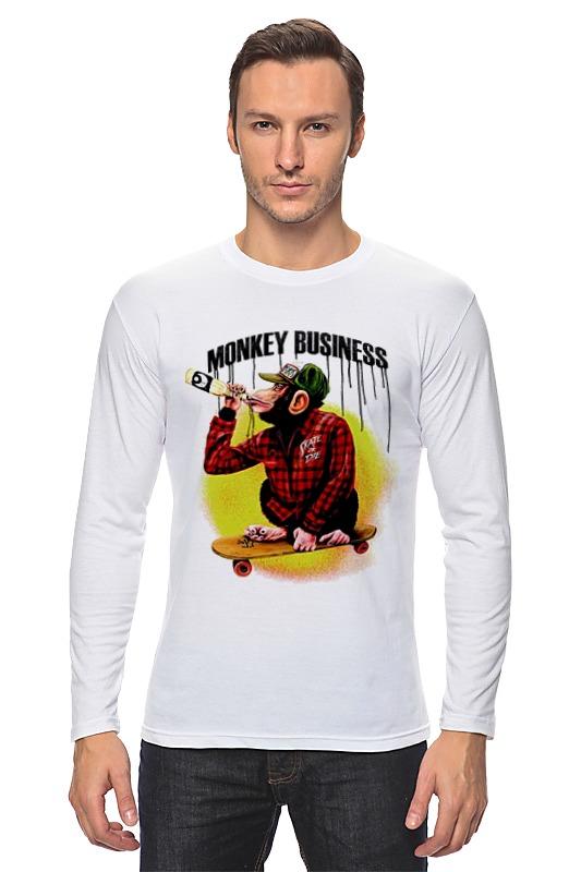 Printio Лонгслив Monkey (обезьяна)
