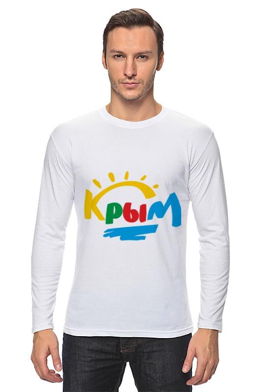 Printio Лонгслив Крым. россия