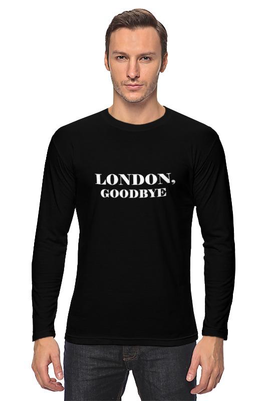 Printio Лонгслив London, goodbye