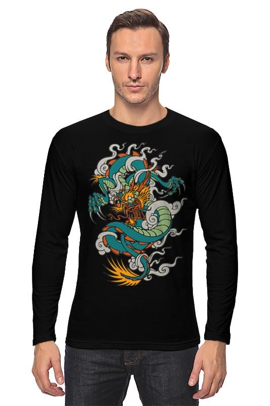 printio лонгслив китайский дракон Printio Лонгслив Дракон / dragon