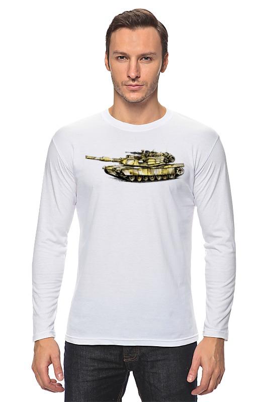 printio танк 1 Printio Лонгслив Абрамс (танк)