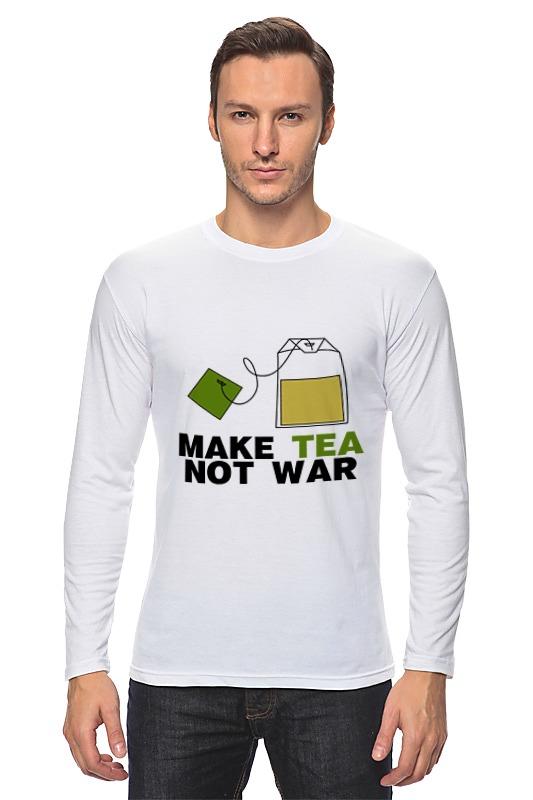 printio make tea not war Printio Лонгслив Make tea not war