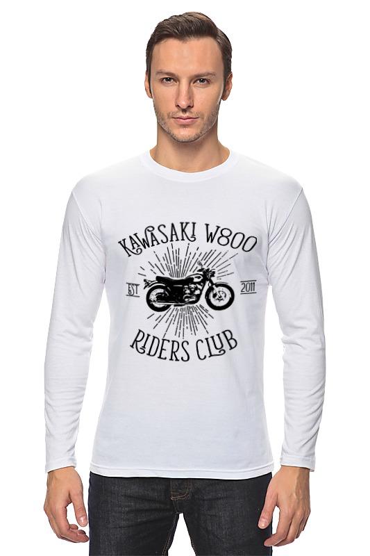 Printio Лонгслив Kawasaki w800 riders club