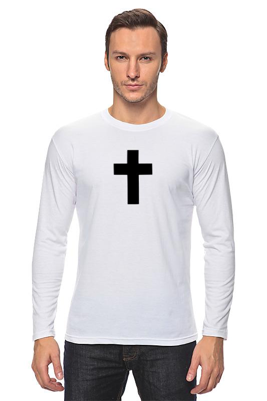 Printio Лонгслив Чёрный крест