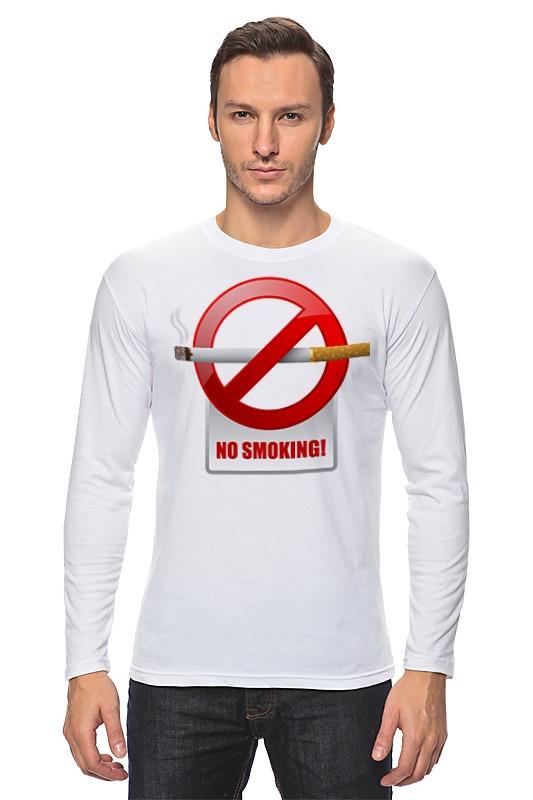 printio лонгслив no cake Printio Лонгслив No smoking