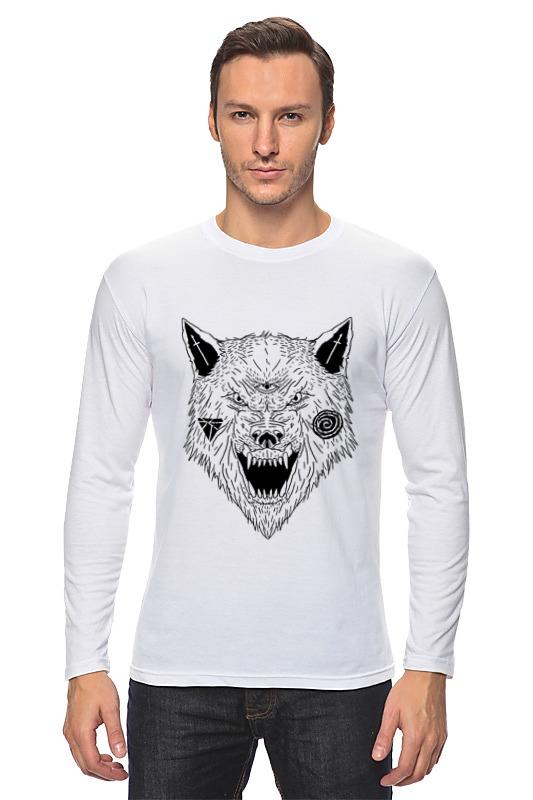 printio серый волк 1 Printio Лонгслив Серый волк