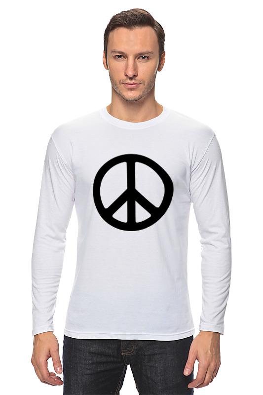 Printio Лонгслив Символ мира