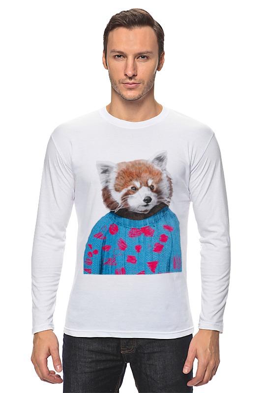 Printio Лонгслив Красная панда