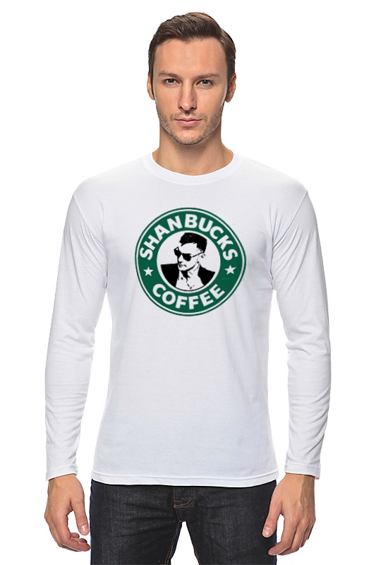 сумка printio shanbucks coffee Printio Лонгслив Shanbucks coffee