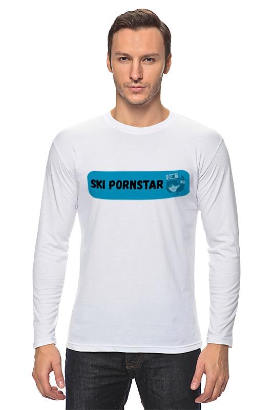 Printio Лонгслив Ski pornstar