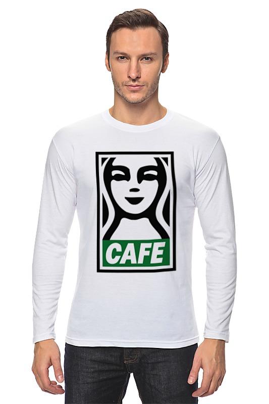 Printio Лонгслив Starbucks (obey)