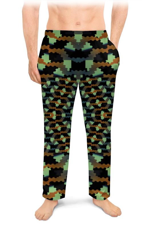 Printio Мужские пижамные штаны Абстрактный камуфляж дракона