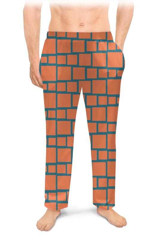 Printio Мужские пижамные штаны Квадраты