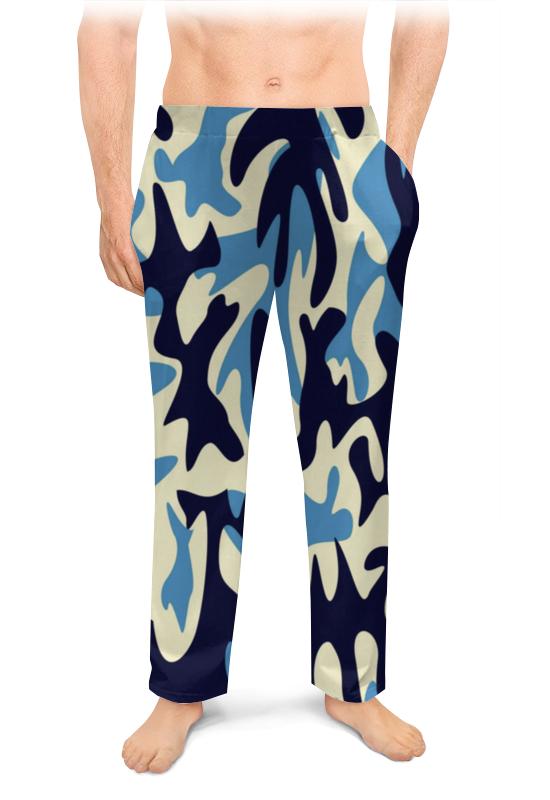 Printio Мужские пижамные штаны Хаки милитари абстракция