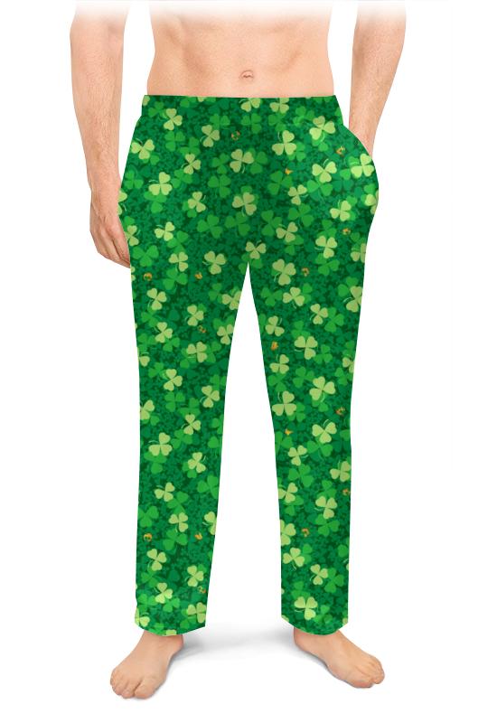 Printio Мужские пижамные штаны Клеверная поляна
