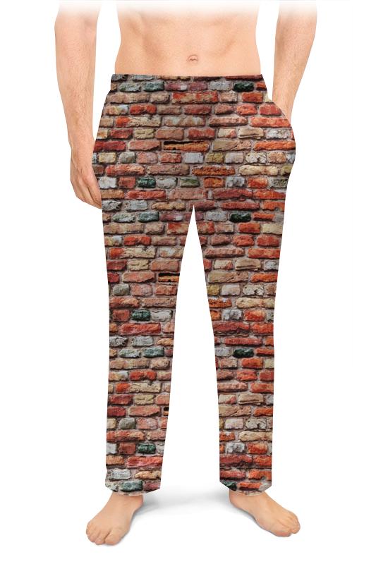 Printio Мужские пижамные штаны Кирпичики