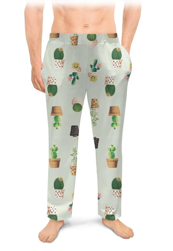 Printio Мужские пижамные штаны Кактусы