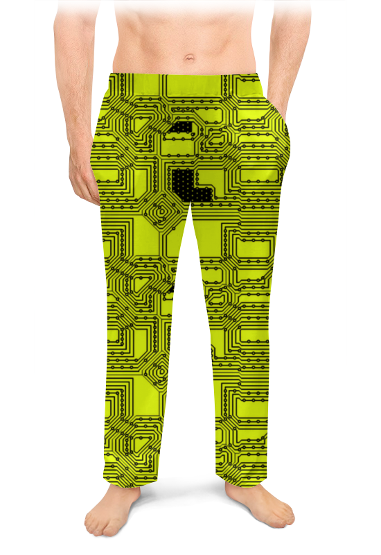 Printio Мужские пижамные штаны Схема