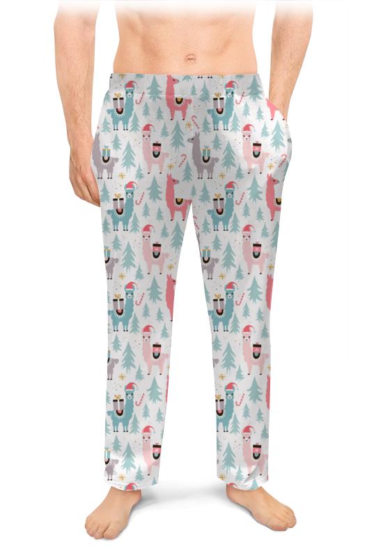 Printio Мужские пижамные штаны С новым годом