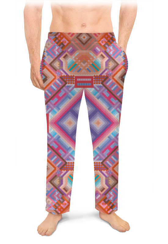 Printio Мужские пижамные штаны с абстрактным рисунком printio сумка с абстрактным рисунком