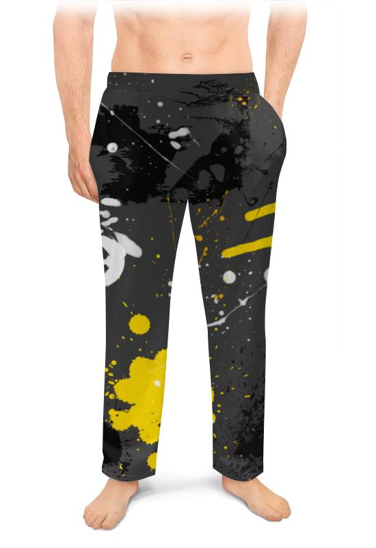 Printio Мужские пижамные штаны Штаны пижамные асфальт