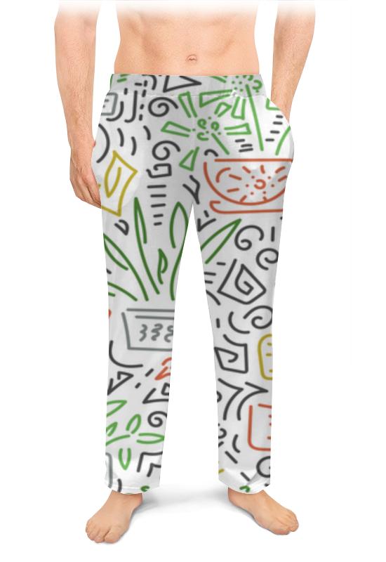 Printio Мужские пижамные штаны Без названия