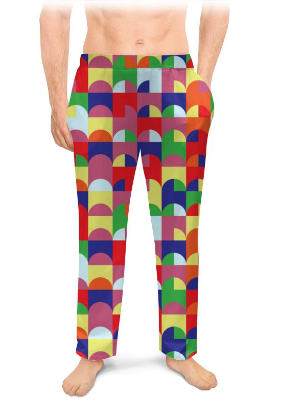 Printio Мужские пижамные штаны Яркая абстракция