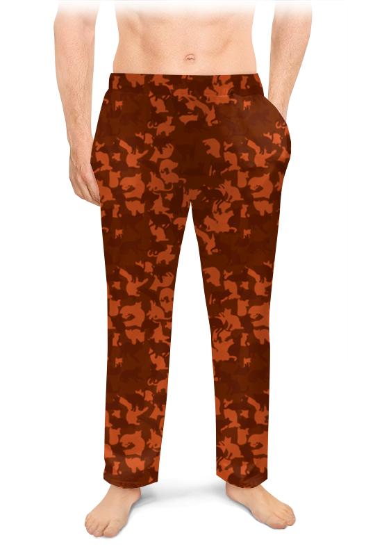 Printio Мужские пижамные штаны Кошачий камуфляж