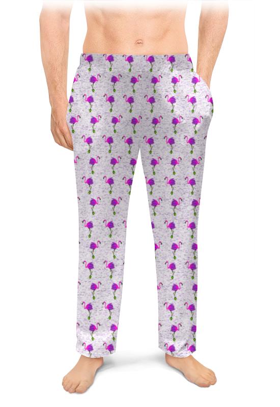Printio Мужские пижамные штаны Розовые фламинго