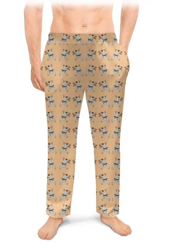Printio Мужские пижамные штаны Бультерьеры