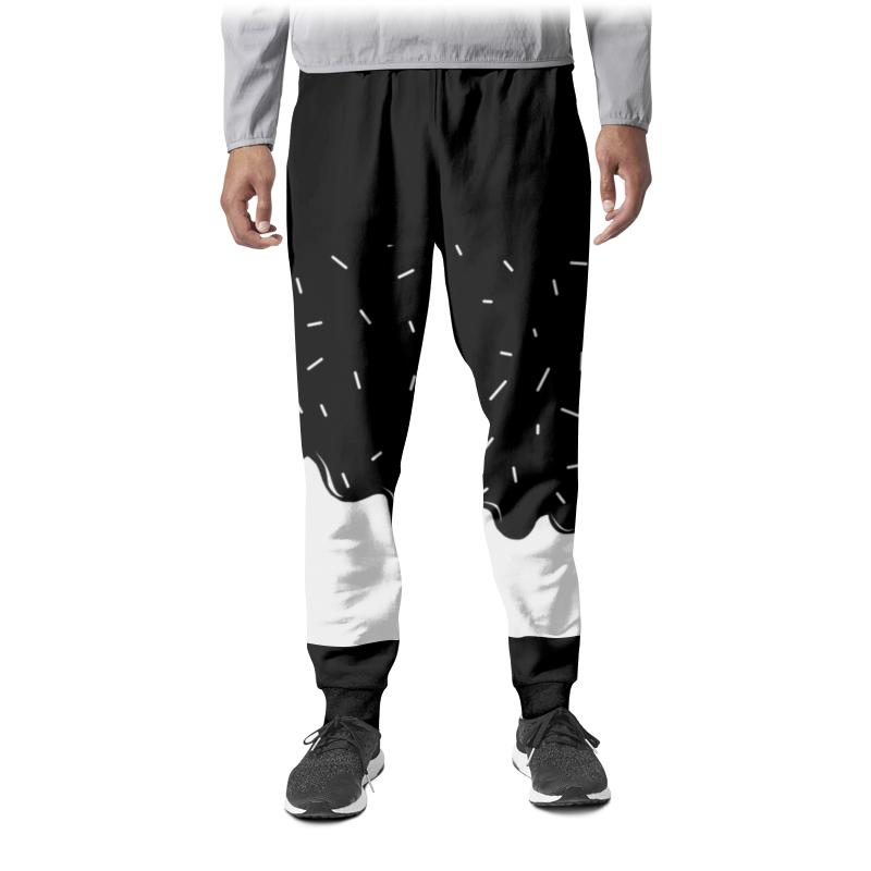 Printio Штаны спортивные мужские Глазурька printio штаны спортивные мужские брюка спортивная