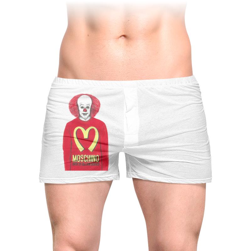 Printio Трусы мужские с полной запечаткой Пеннивайз printio футболка с полной запечаткой мужская пеннивайз