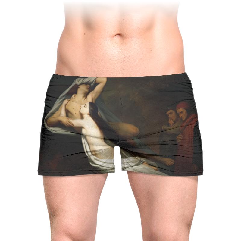 Printio Трусы мужские с полной запечаткой Тени паоло и франчески являются данте и вергилию