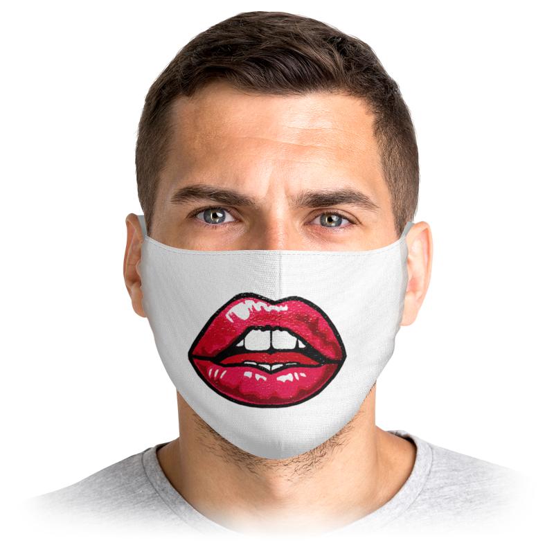 Printio Маска лицевая Силиконовые губы
